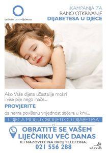 Kampanja za rano otkrivanje dijabetesa u djece
